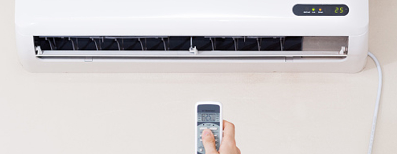 Air con system with remote control