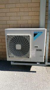 Daikin inverter airconditioning system.